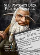 NPC Portraits Deck: Frontier Townsfolk