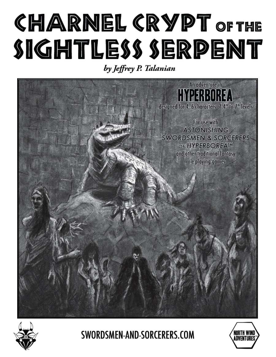 Cover of Charnel Crypt of the Sightless Serpent