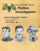 Cheap Stock Art: Mythos Investigators
