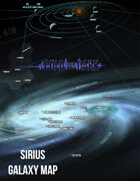 Cold & Dark Sirius Galaxy Map (Free)