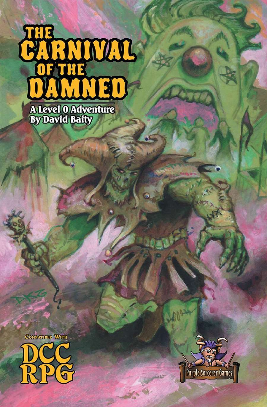 Cover of The Carnival of the Damned