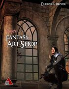 Deep7's Fantasy Art Shop - Duelist in Repose