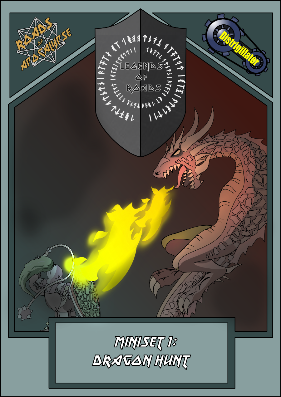 Roads of Apocalypse - Mini-set № 1: Dragon hunt