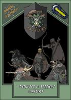 Roads of Apocalypse (3rd ed.) - Demo-set 2: Settlers hunters
