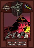 Roads of Apocalypse (4th ed.) - Set 2: Church of Apocalypse Marked Bonecrushers