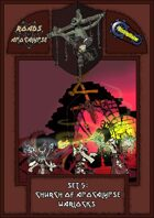 Roads of Apocalypse (4th ed.) - Set 5: Church of Apocalypse Warlocks