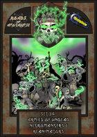 Roads of Apocalypse (4th ed.) - Set 34: Armies of Undead - Necromancers & Reanimators