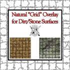 """Natural """"Grid"""" Overlay for Dirt/Stone Surfaces"""