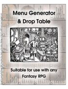 Free Version: Menu Drop Table