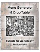 Free Version: Menu Drop Table