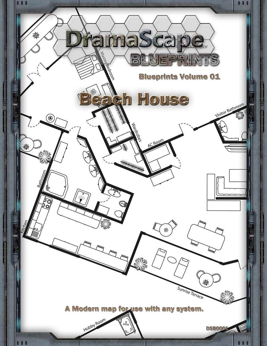 Dramascape blueprints bundle dramascape modern blueprints bundle price 200 malvernweather Gallery