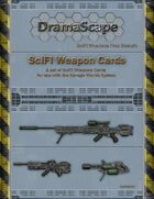 Savage Worlds SciFi Weapons Cards Free Sample