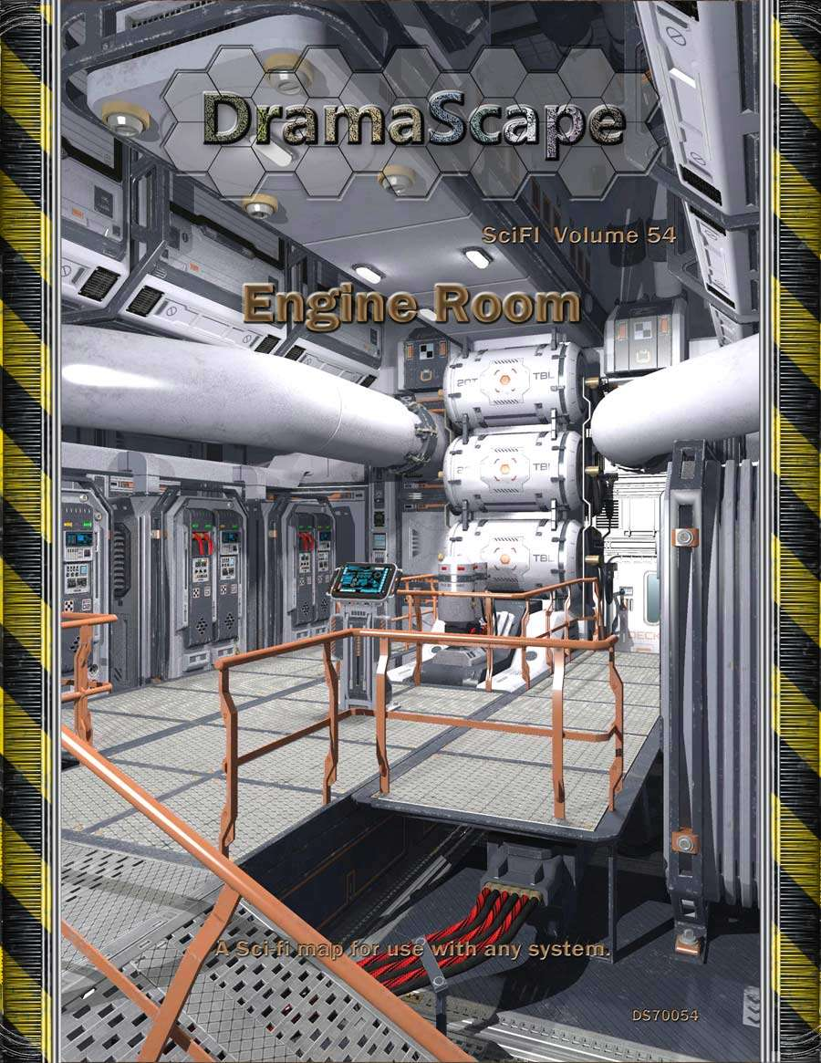 The Engine Room From Way Back: Engine Room - DramaScape