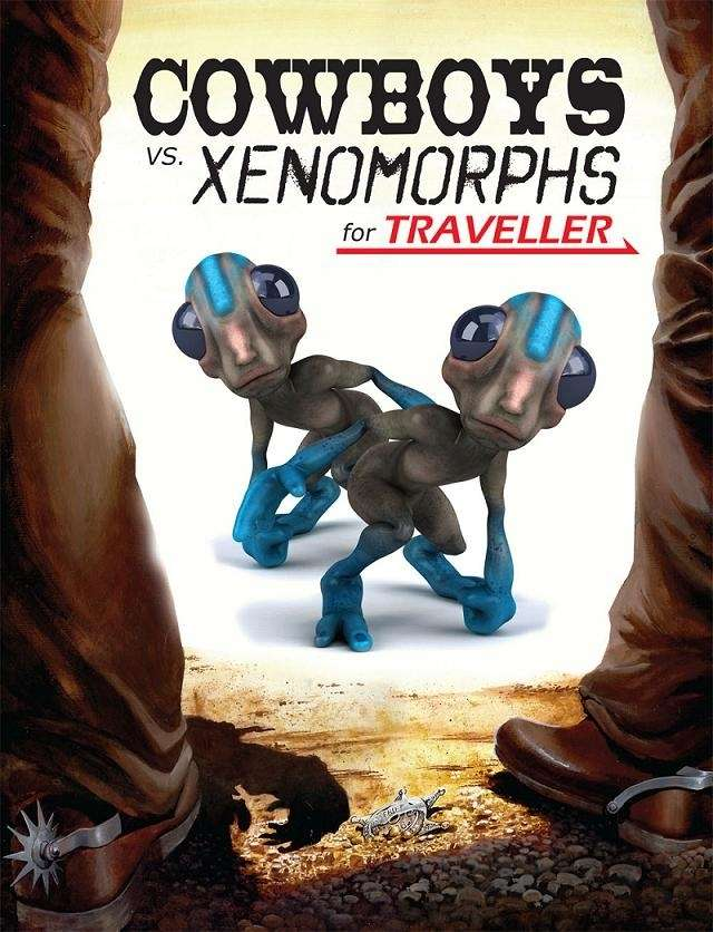 Mongoose Traveller Cowboys and Xenomorphs