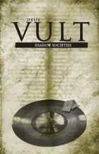 Legend/Deus Vult: Shadow Societies