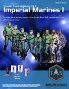 Traveller Paper Miniatures Vol. 2 Imperial Marines I