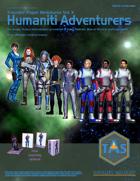 Traveller Paper Miniatures Vol. 10 Humaniti Adventurers