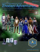 Zhodani Adventurers Portraits