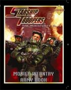 Starship Troopers: Mobile Infantry Army Book