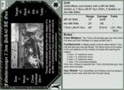 BF Evo: World at War - Fallschirmjaeger Cards