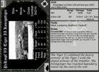 BF Evo: World at War - German Vehicle Cards