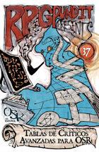 RPGPundit Presents #37: Advanced OSR Critical Tables (Spanish)