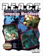 R.E.A.C.T. Worldbook (Savage Worlds ed.)