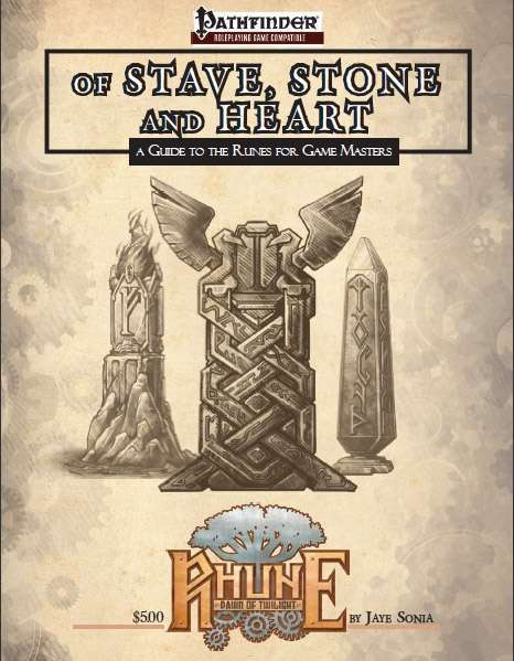 Of Stave, Stone, and Heart: A Guide to the Runes for Game Master