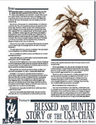 Storm Bunny Presents: Blessed and Hunted - The Story of the Usa-Chan