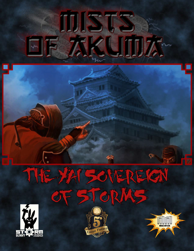 Cover of Mists of Akuma: The Yai Sovereign of Storms