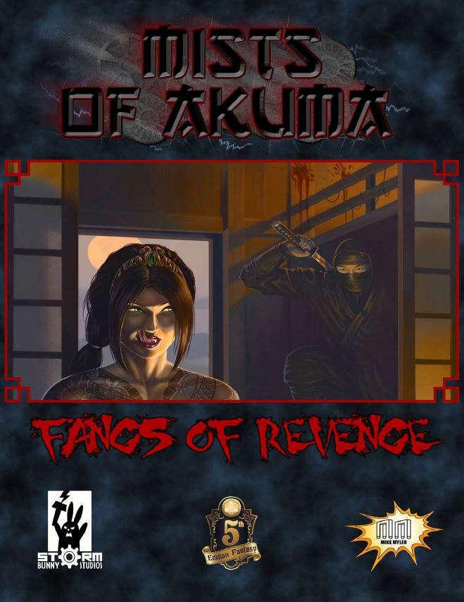Cover of Mists of Akuma: Fangs of Revenge
