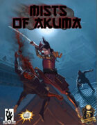 Mists of Akuma: Eastern Fantasy Noir Steampunk for 5E (Ink Friendly)