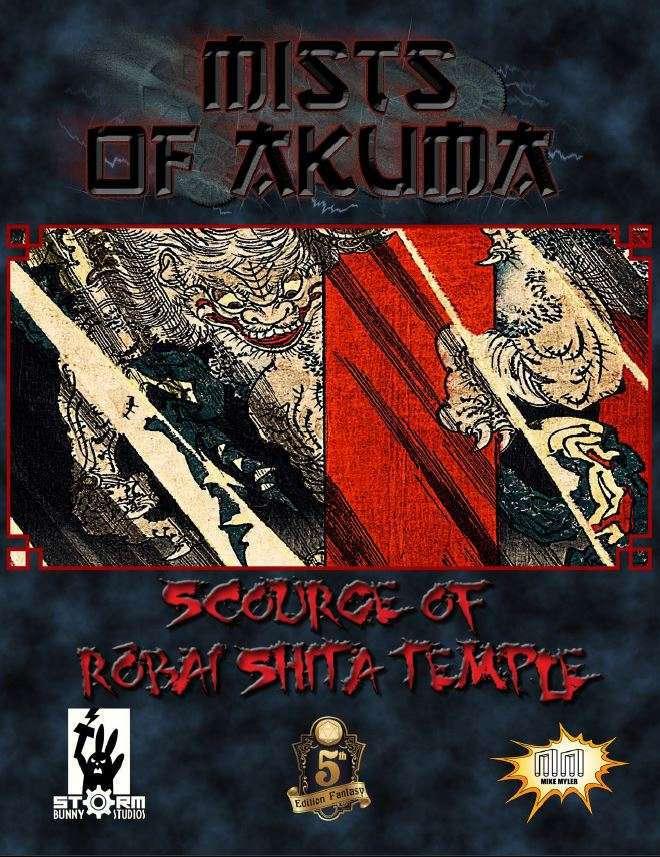 Cover of Mists of Akuma: Scourge of Róbai-Shita Temple