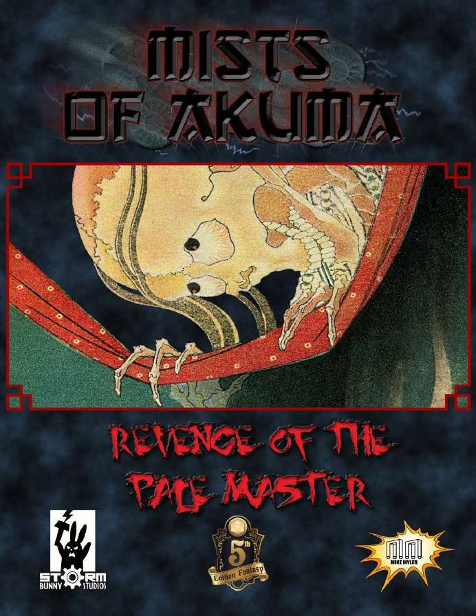 Cover of Mists of Akuma: Revenge of the Pale Master