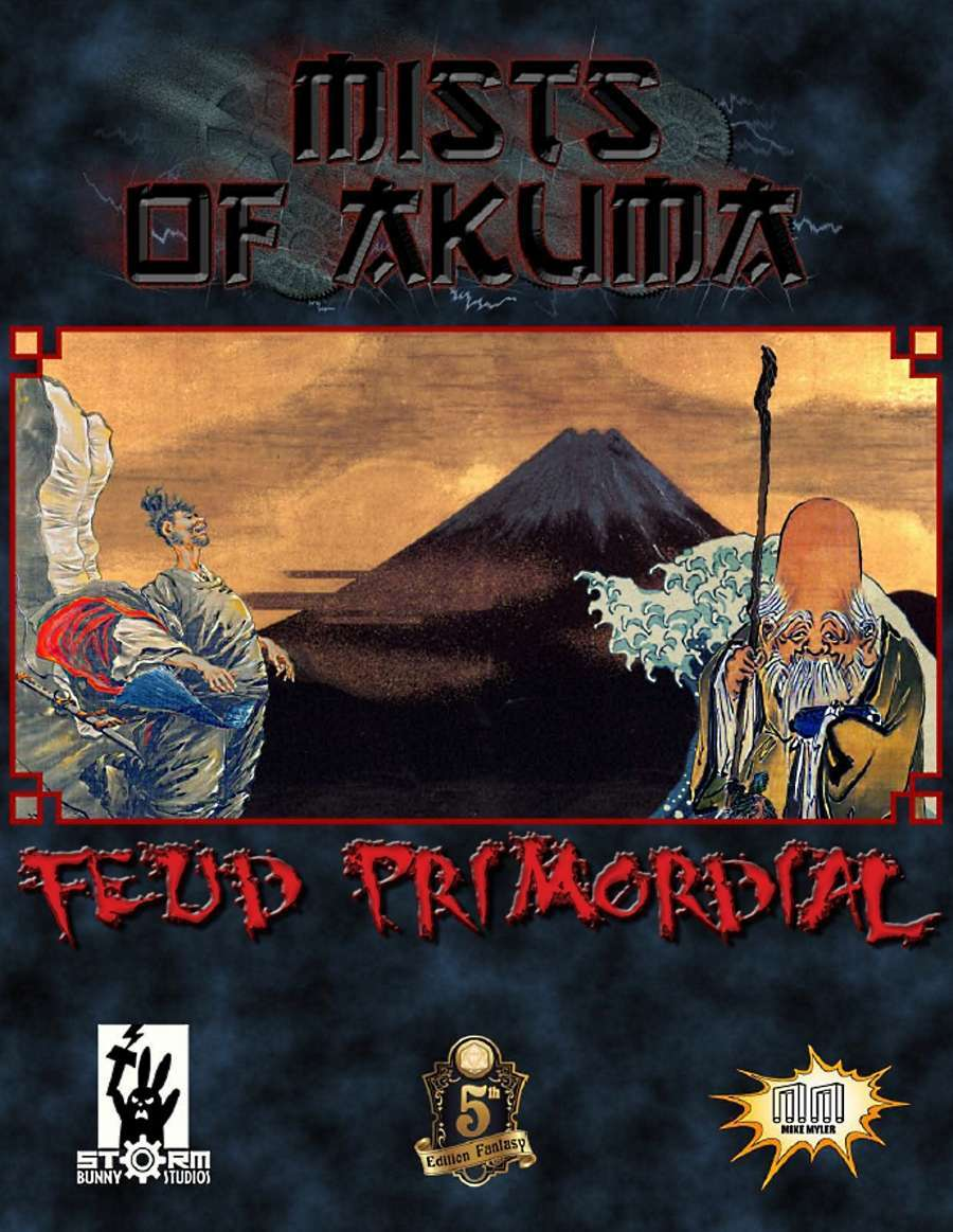 Cover of Mists of Akuma: Feud Primordial