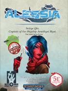 Alessia Promo PDF - Seirye Qin, Captain of the Skyship Amethyst Myst.