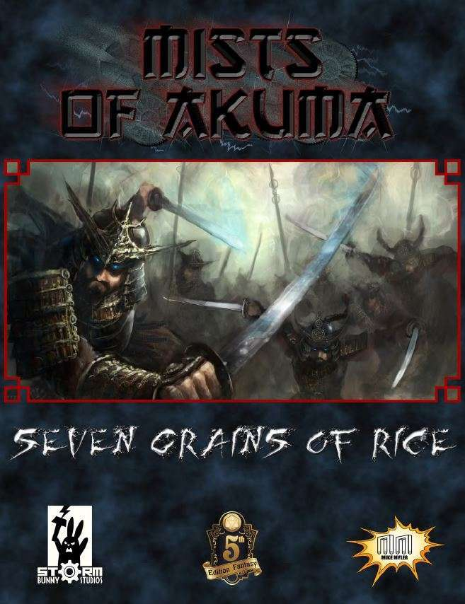 Cover of Mists of Akuma: Seven Grains of Rice