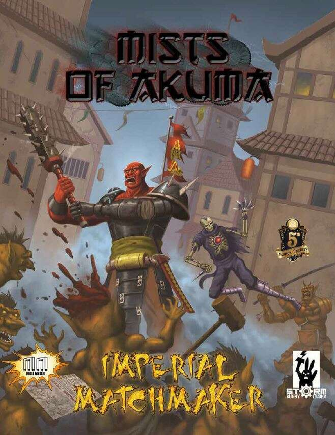 Cover of Mists of Akuma: Imperial Matchmaker