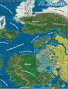 World of Alessia World Map