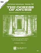 TM1 The Ogress of Anubis