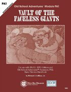 PA1 Vault of the Faceless Giants