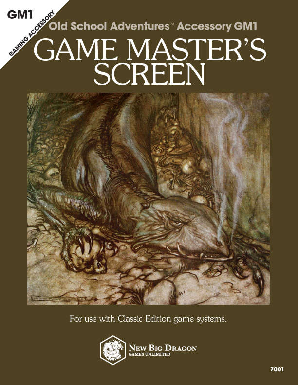 GM1a Game Master's Screen