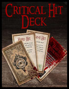 Critical Hit Deck - Fifth Edition
