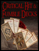 Critical Hit and Fumble Decks [BUNDLE]
