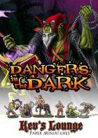 Kev's Lounge Paper Minis: Dangers in the Dark