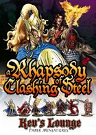 Kev's Lounge Paper Minis: A Rhapsody of Clashing Steel