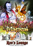 Kev's Lounge Paper Minis: Wondrous & Magical