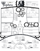 Tephra Character Sheets (and more!)