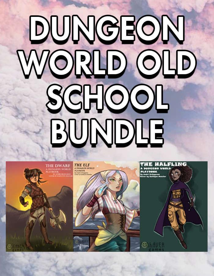 Dungeon World Old School [BUNDLE] - Fünhaver Industries | DriveThruRPG com