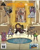 Deadly Missions 5th Edition: MYTHIC GODS SET ONE